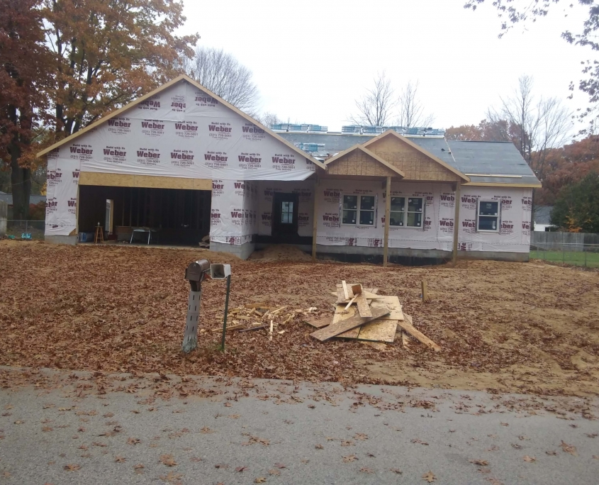 Norton Shores Custom Home - In Progress